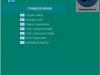 Главное окно информационной системы курсовой работы в MS Access