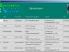 Список заказчиков в информационной системы курсовой работы