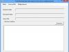 Интерфейс программы шифрования курсовой работы