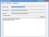 Результат работы программы при расшифровке информации и сохранении результата в файл