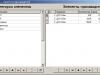 Окно учёта составных элементов производства в курсовой работе