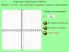 Начальное отображение Flash проекта по построению графика функции