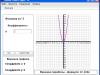 Построение графика параболы курсовой работы с одним коэффициентом