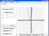 Построение графика параболы курсовой работы с двумя коэффициентами