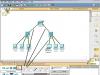 Построение связей между элементами компьютерной сети в программе Packet Tracer