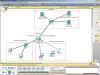 Конечная сеть с WI-FI роутером, построенная в курсовой работе