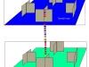 Имитационная модель взаимодействия этажей разрабатываемой компьютерной сети дипломной работы