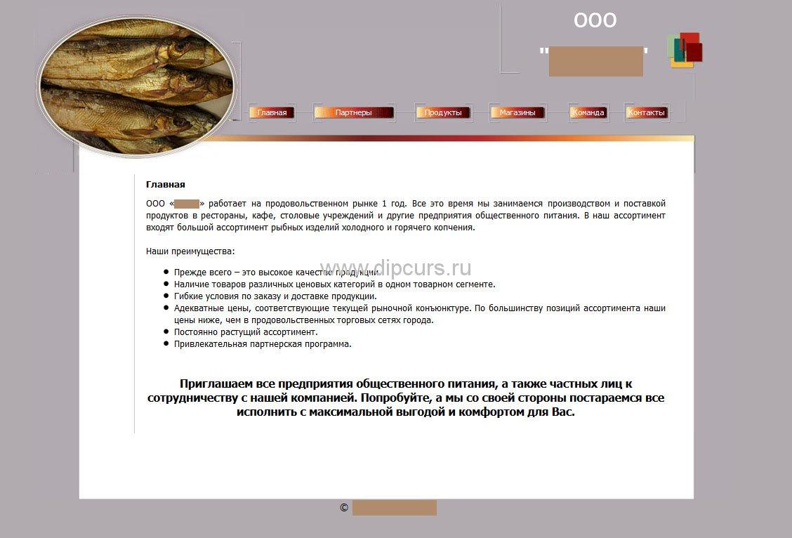 Дипломные работы создание web - сайтов сайт министерство промышленности, энергетики и топливных ресурсов кыргызской республики