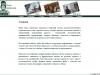 Второй web сайт курсовой работы - пример реализации многоязычности