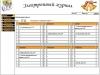Школьное расписание по классам в электронном журнале