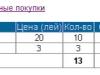 Изображение корзины пользователя (покупателя) web сайта дипломной работы