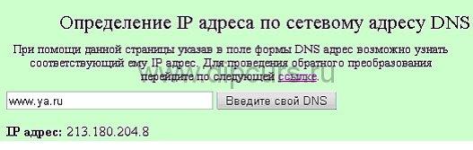 Курсовая работа Компьютерные сети сервис whois dipcurs Изображение ответа на запрос dns имени ya ru в курсовом проекте