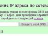 Изображение ответа на запрос DNS имени www.ya.ru в курсовом проекте