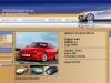 Web страница описания автомобиля. Три нижних изображения просматриваются в виде галлереи
